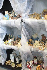Les décorations de Noël sont en vente